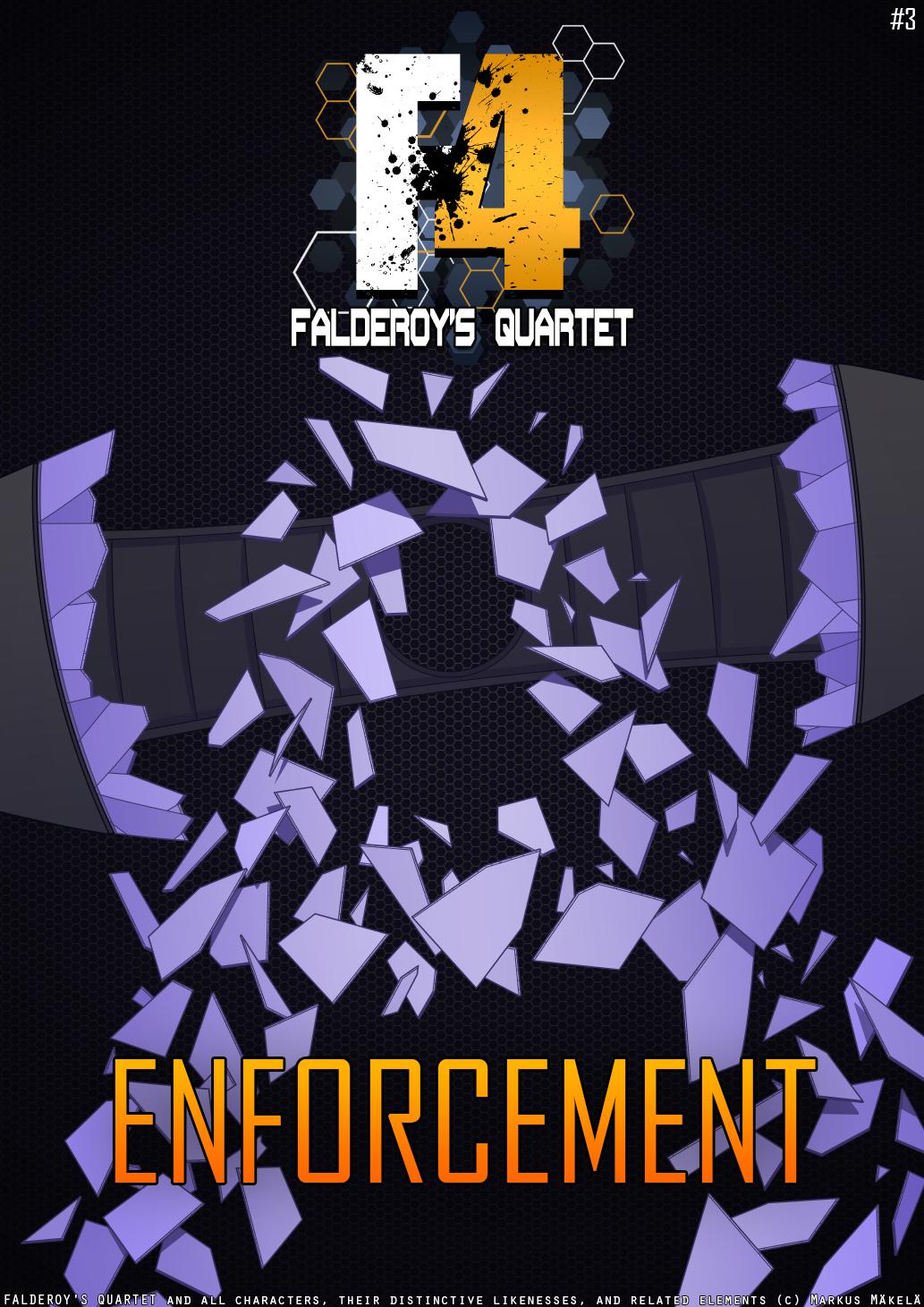 Falderoy's Quartet #3 Enforcement cover