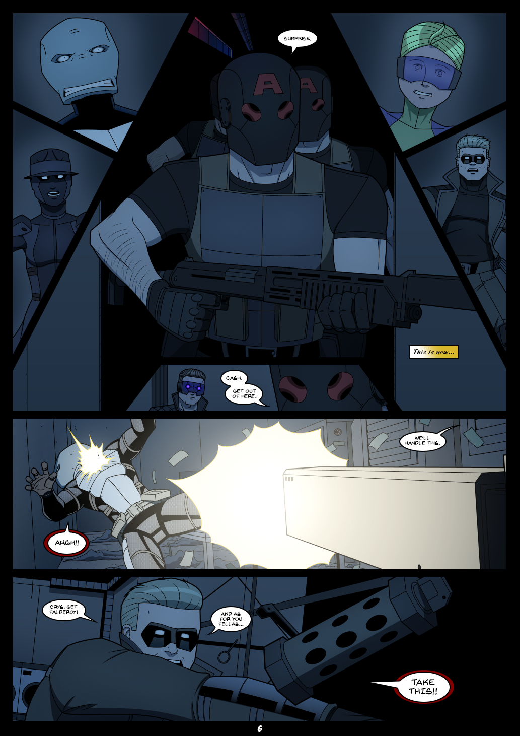 Falderoy's Quartet #3 page 6