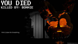 Game Over Screens - FNaF 4 - Jack-O-Bonnie
