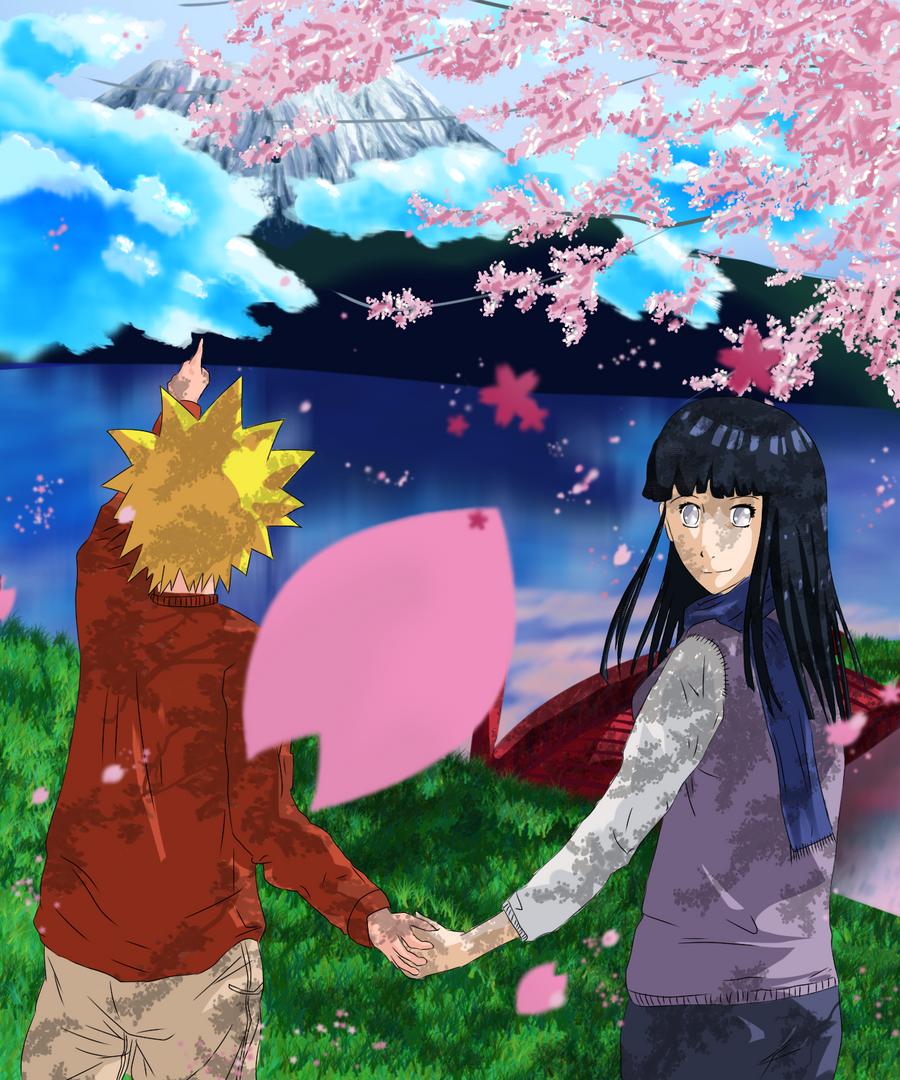 Naruto_and_Hinata color by penguintejas on DeviantArt