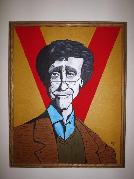 Kurt Vonnegut by JackFalstaff