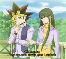A lucky meeting - Yugi and Lorena