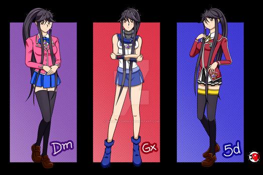 YGO OC - Shyrai Lorena - School Uniforms