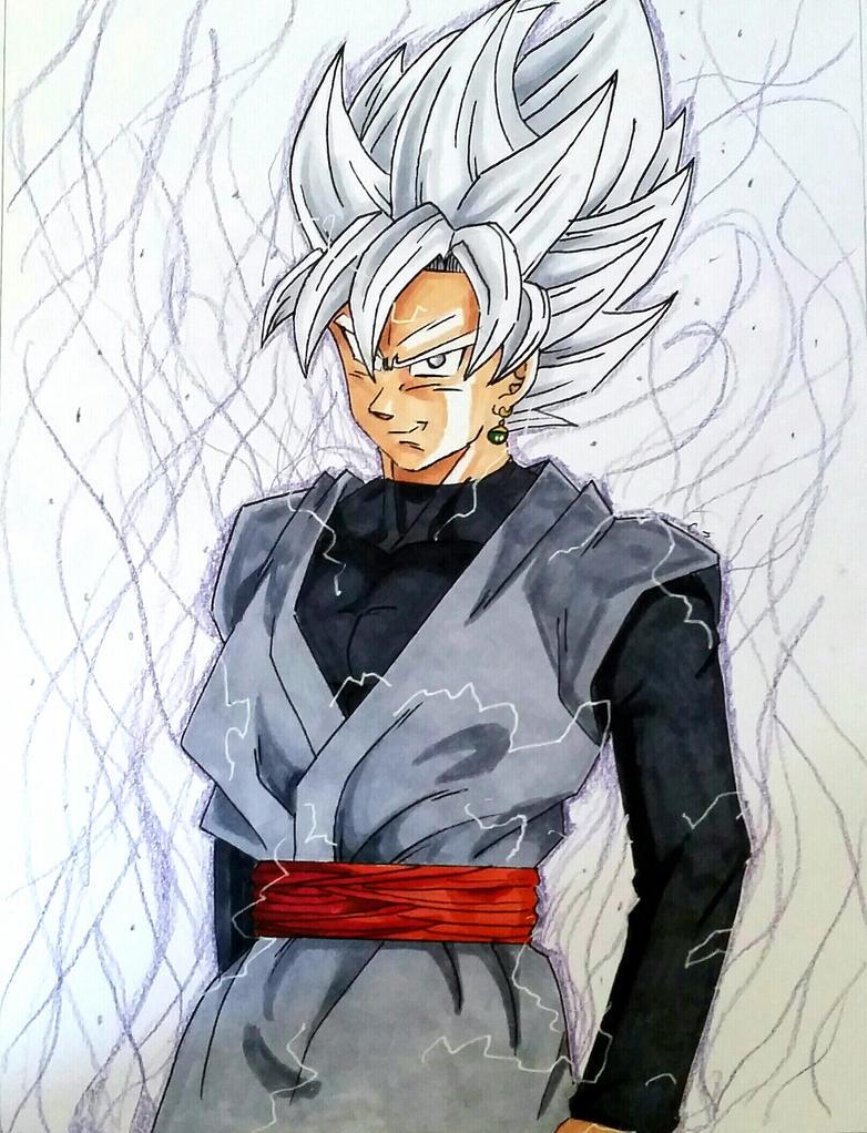 Super Saiyan Goku Black. Yes, this happened in the Manga ...  |Black Goku Super Saiyan