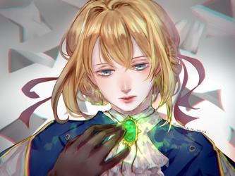 Violet Evergarden by Miu0813