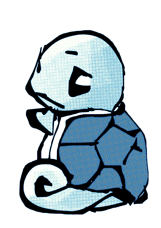 Carapuce (squirtle) by x-titoO-x