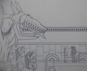 Vritra sketch by BoxOfNinja