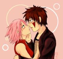 KibaSaku-Happy Valentines Day by BoxOfNinja