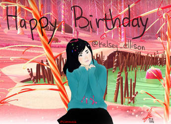 Happy Birthday @Kelsey_ellison ~! ^0^/ by 12enma12