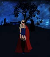 Dracula's bride by AloneInUniverseArt