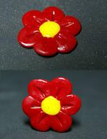 Finger flower by AloneInUniverseArt
