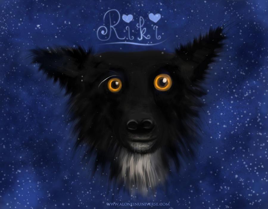 Riki speedpaint by AloneInUniverseArt