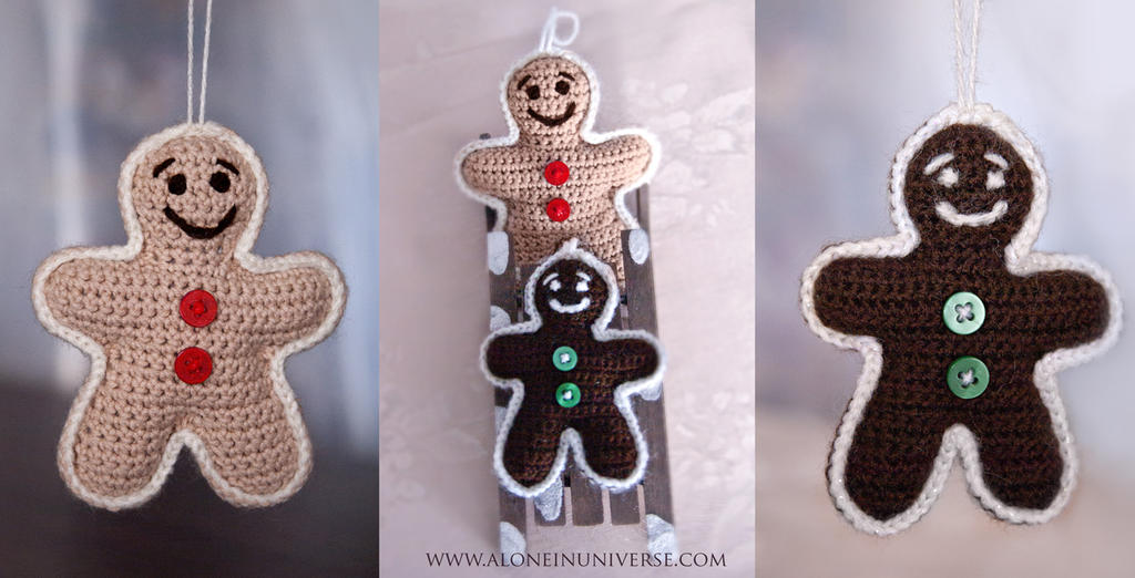 Gingerbread brothers by AloneInUniverseArt