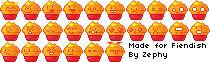 Cupcake emoticons.