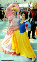 Princess Peach and Snow white