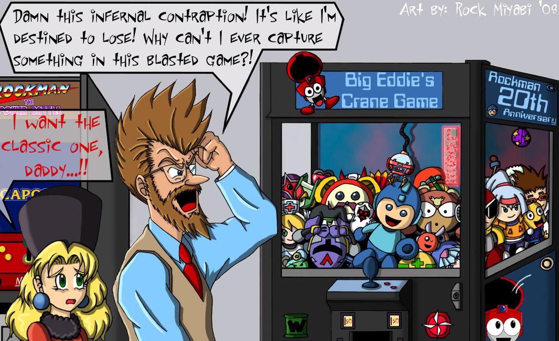Dr. Cossack Hates the Arcade by RockMiyabi
