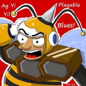 Hornetbee Man