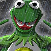 HiHo, It's Kermit the FrogMan by RockMiyabi