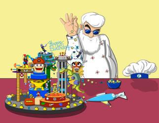 MM30th Anniversary: Light Powerup Sprinkle CakeBae