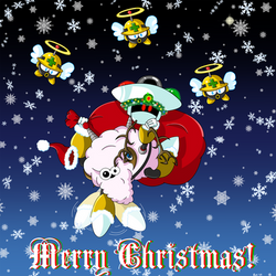 Santa Sheep Is Flying To Town - Robot Rumpus '17