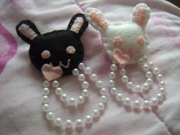 Bunnies and Pearls by jely-claris-anne