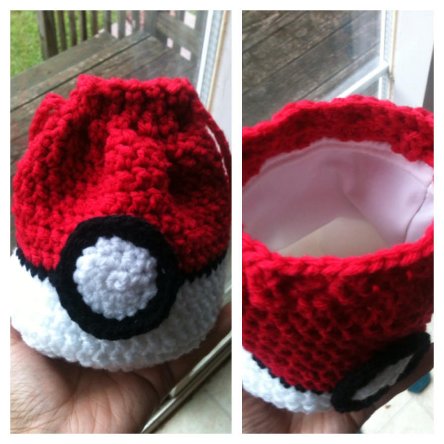 Pokeball Chalk Bag by jely-claris-anne