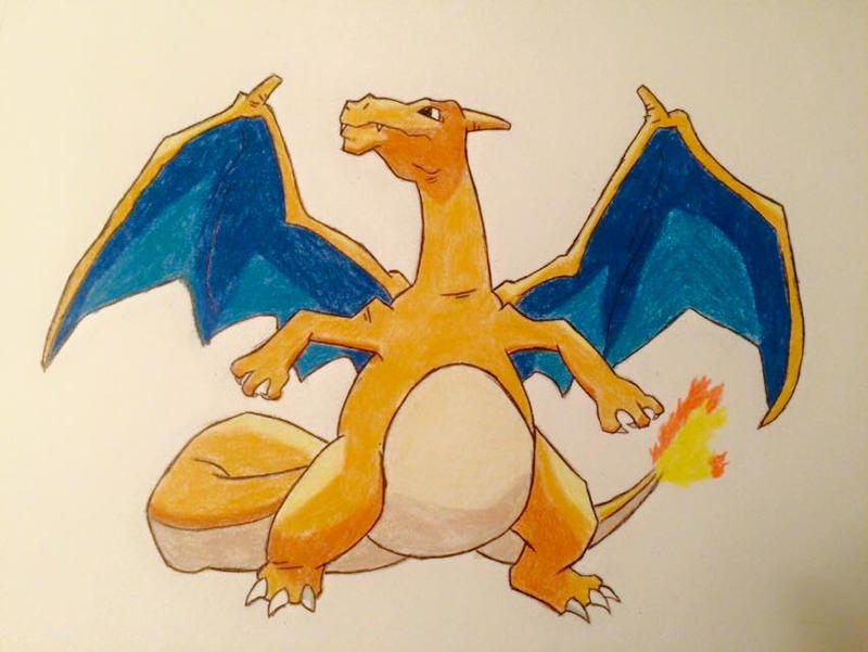Charizard by uniquedrawing96