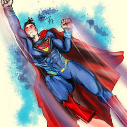 Superman Wins by spontaneousOD