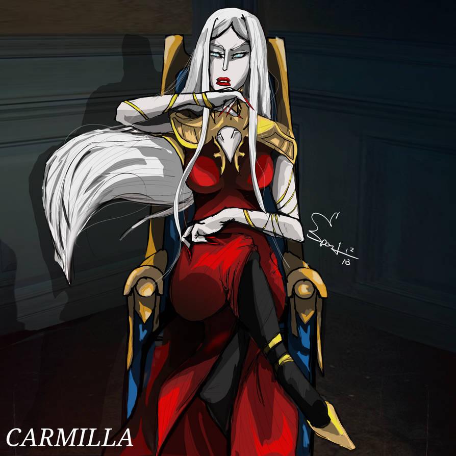 Carmilla x Vanity Fair by spontaneousOD