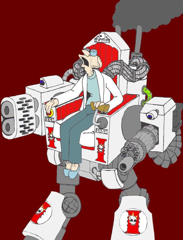Lord Inquisitor Farnsworth by josh-m