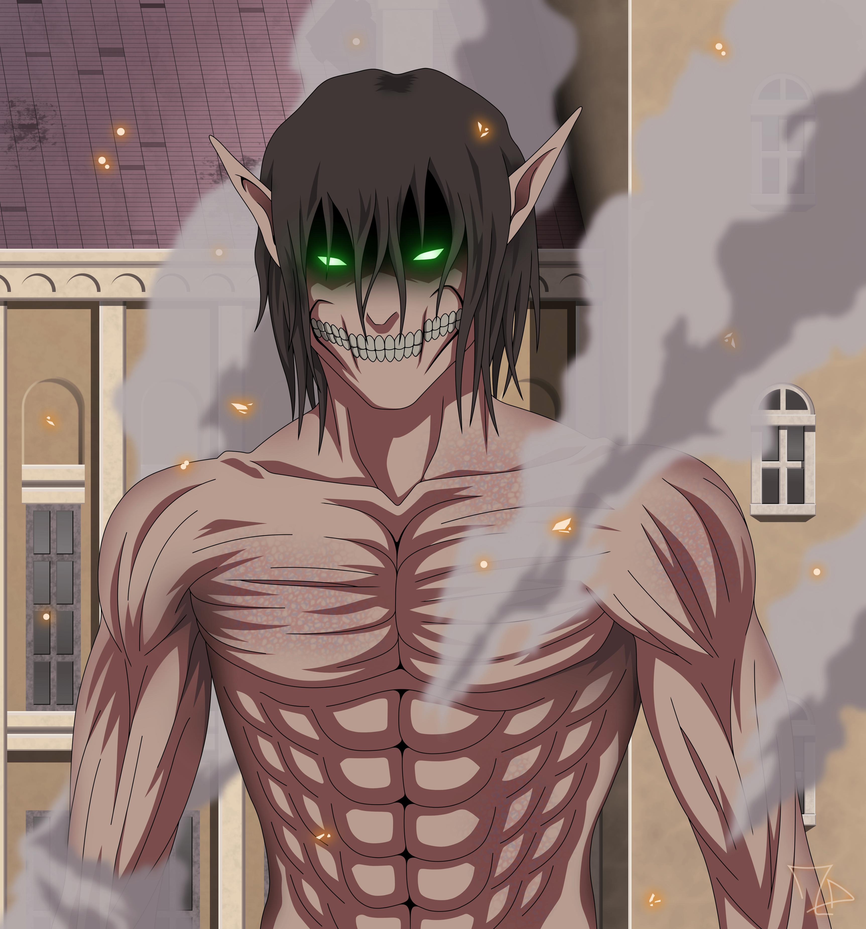 FanMade] Eren Jaeger titan form by flo94cody on DeviantArt