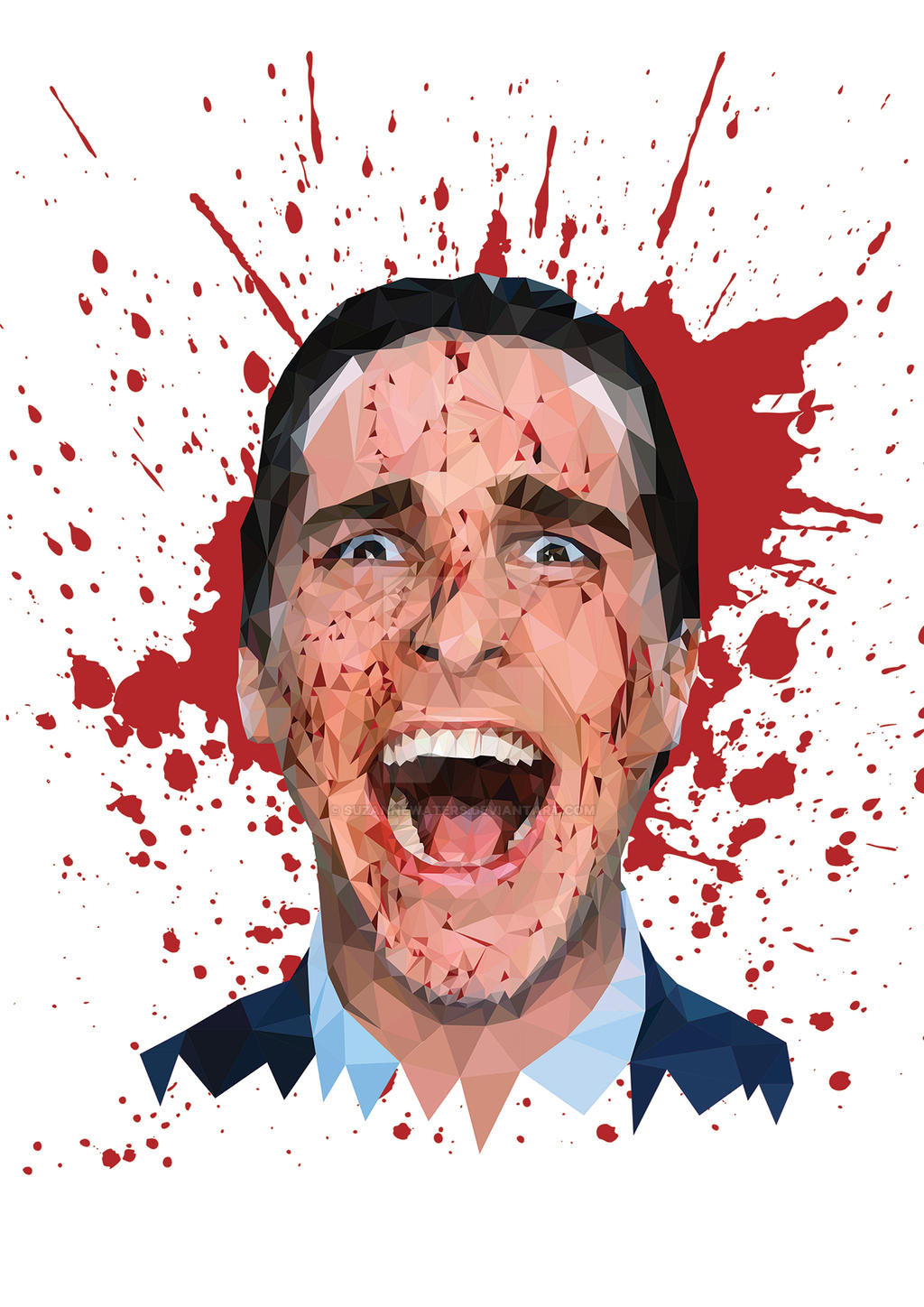 Patrick Bateman American Psycho By Suzannewaters On