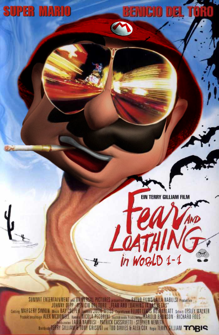 Mario - Fear and Loathing by Jorge1087