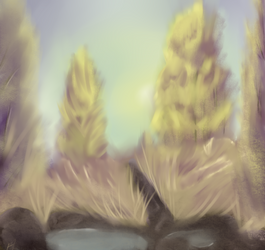 Digital Painting With Bob Ross Episode 1 + Video