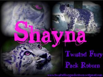 Shayna Banner by starwolf260