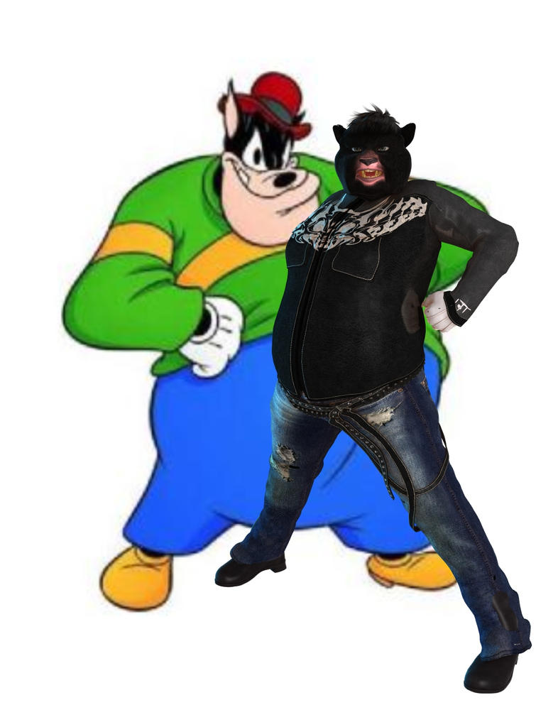 Disney-Black Pete by robbybobby