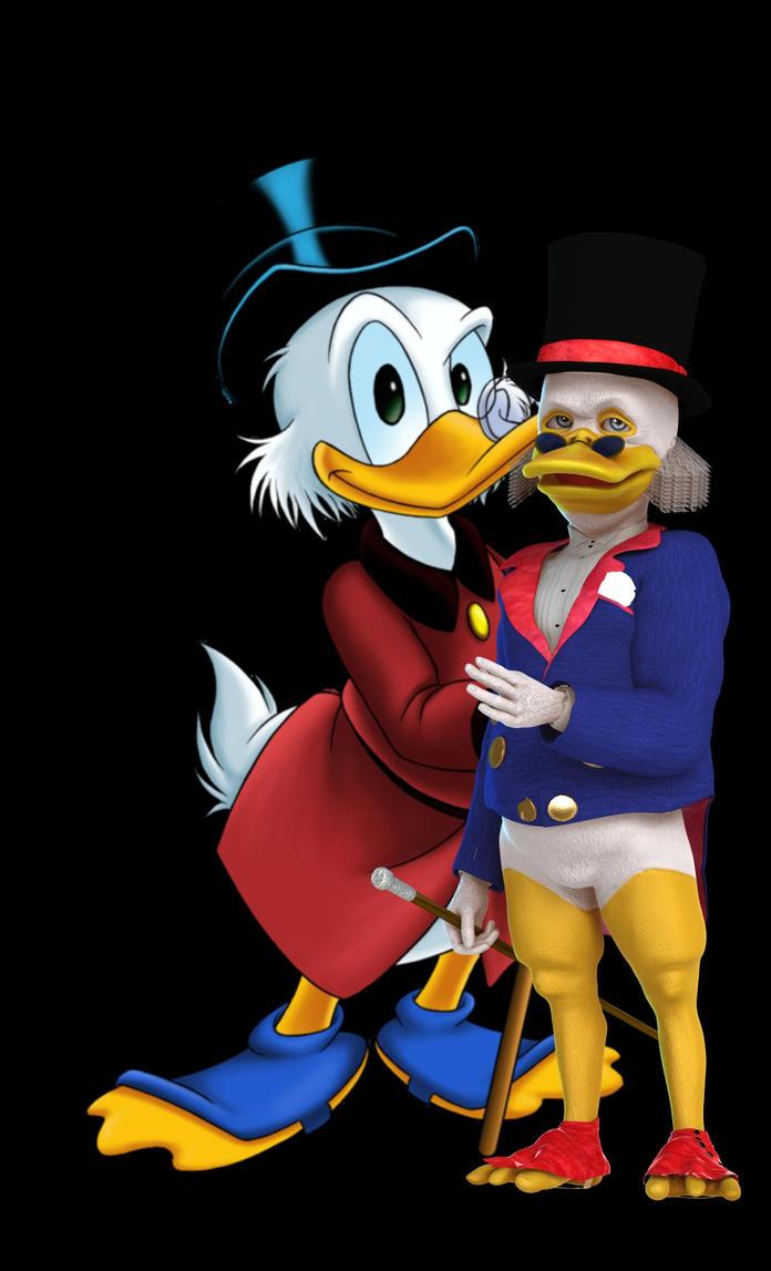 Disney-Scrooge McDuck by robbybobby