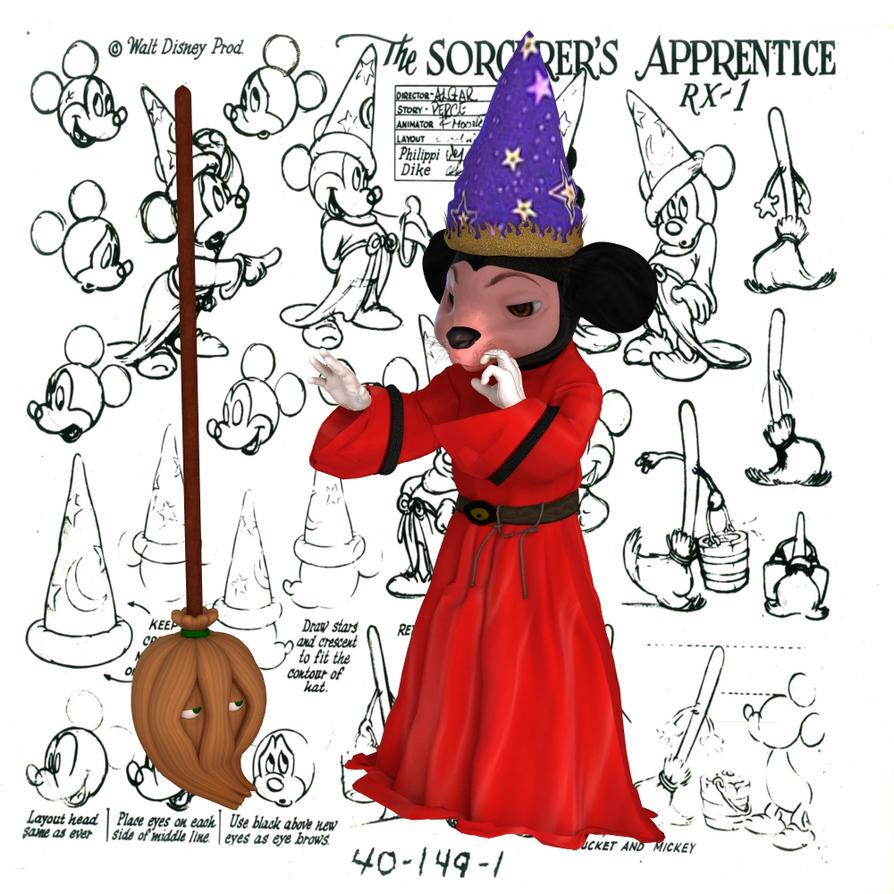 Disney-Sorcerer's Apprentice by robbybobby