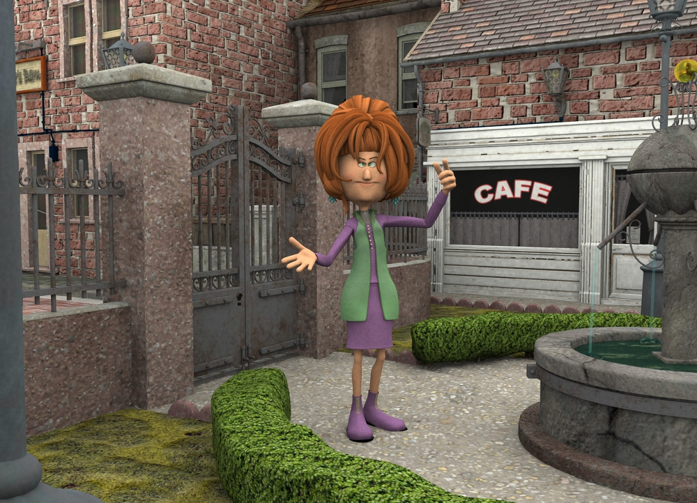 Endora-Toon Square by robbybobby