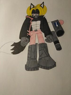 Hacker battle gear by xaviir20