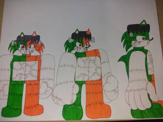 Jr the Frankenhog #1 ref by xaviir20