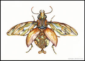 Steampunk Bug by MiraPau