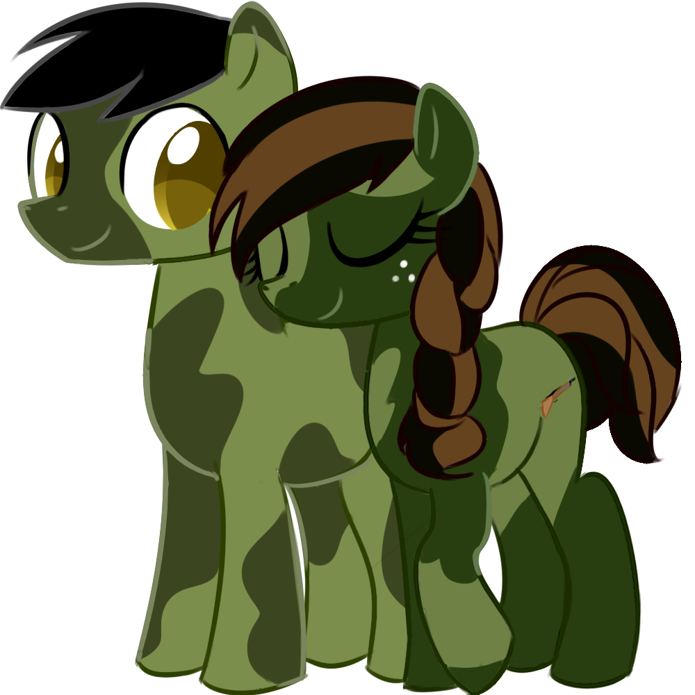 Camo pony love by GaryD12