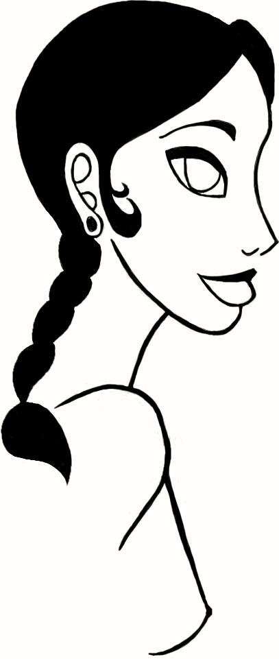 Jasmine Linework by artistformallyknowna