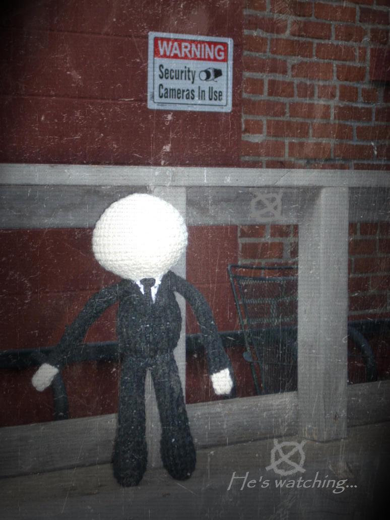 Amigurumi Slender Man : Slender Man Plushie by hlessirah on DeviantArt