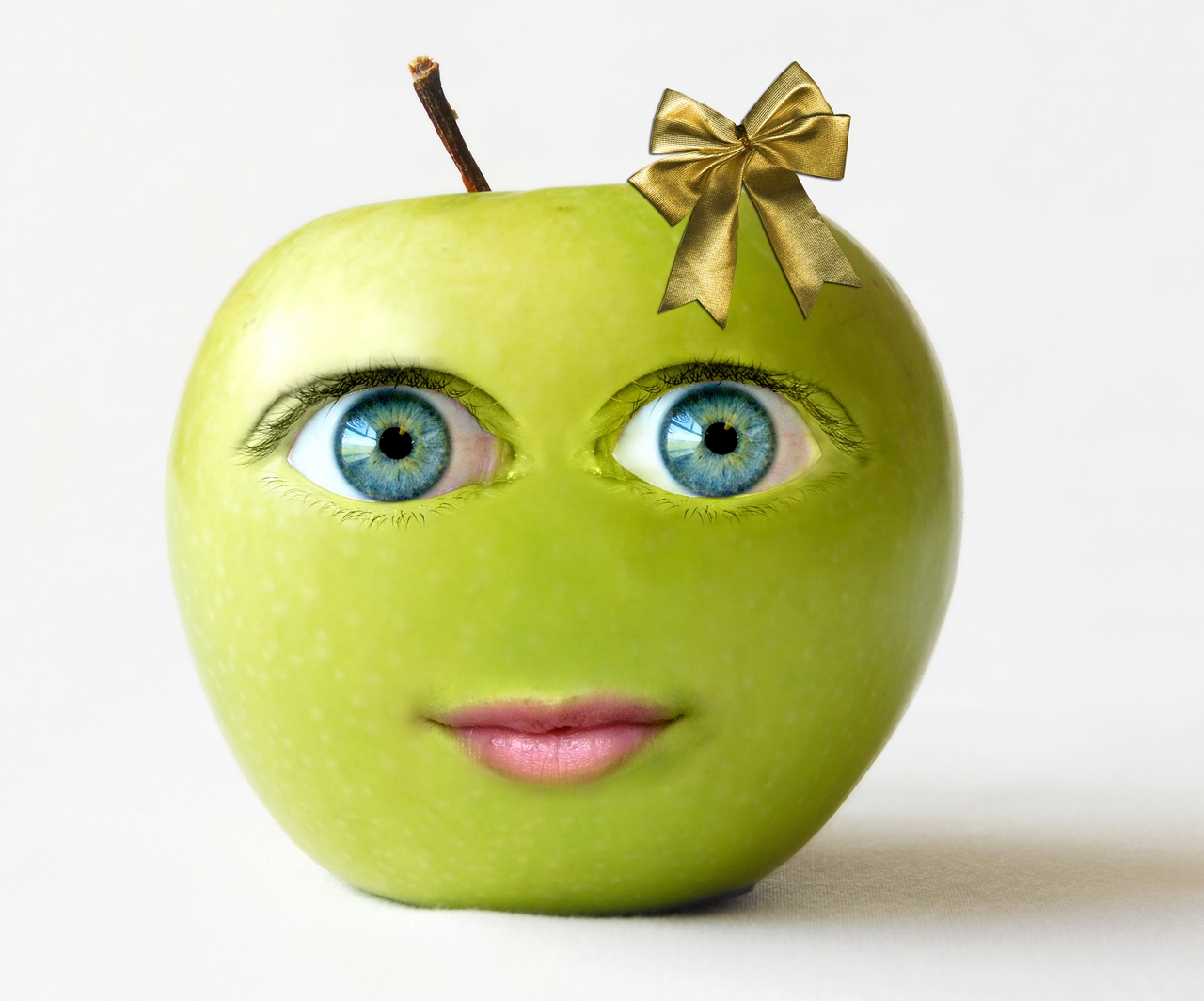 Cute Apple by fisherfusion on DeviantArt