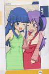 Rika and Hanyuu Doodle