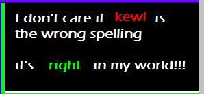 kewl by abolatinge