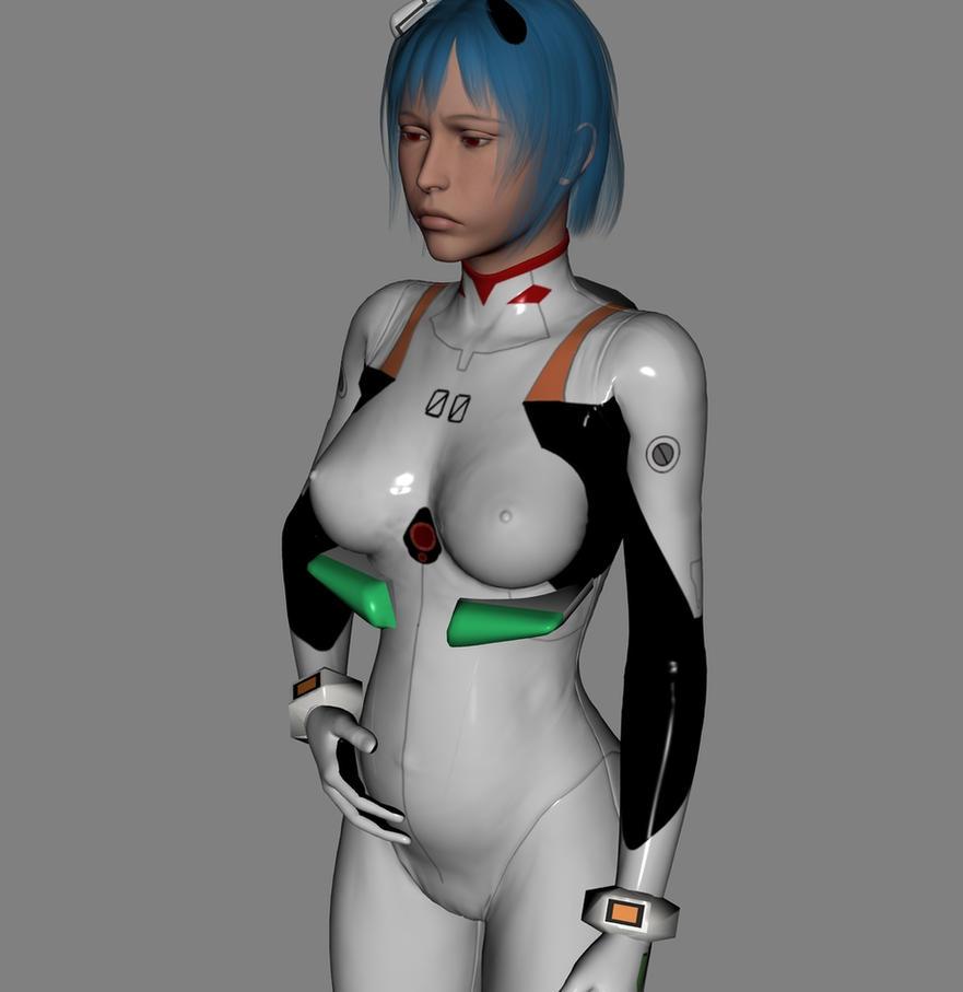 Ayanami_1 by Zededd EvilEliot