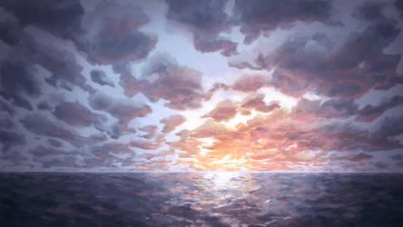 Sunset by Twinji-Tech